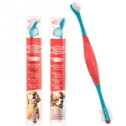 Petrodex Dual Ended 360 Degree Toothbrush for Dogs Image