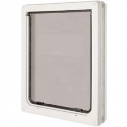 Dog Mate Dog Door - White Image