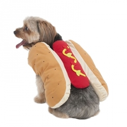 Lookin' Good Hot Dog Dog Costume Image