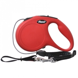 Flexi New Classic Retractable Cord Leash - Red Image