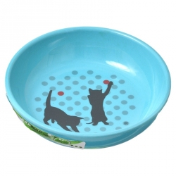 Van Ness Ecoware Decorative Cat Dish Image