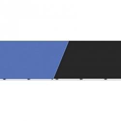 Blue Ribbon Vibran-Sea Blue/Black Double Sided Background for Aquariums Image