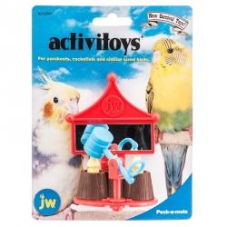 JW Activitoys Peck-A-Mole Plastic Bird Toy Image