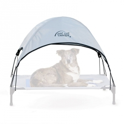 K&H Pet Cot Canopy - Gray Image