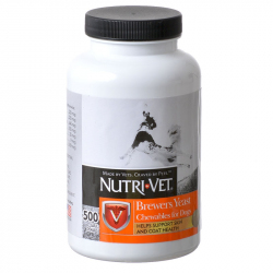 Nutri-Vet Brewers Yeast Chewables for Dogs - Garlic Flavored Image