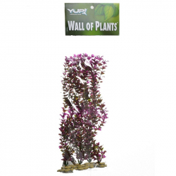 Yup Aquarium Decor Wall of Plants - Red & Green Image