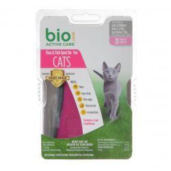 Bio Spot Active Care Flea & Tick Spot On for Cats Image