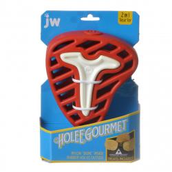 JW Pet Holee Gourmet Steak Dog Toy Image