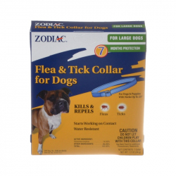 Zodiac Flea and Tick Collar for Large Dogs - 5 Month Supply Image