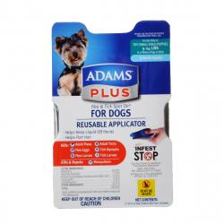 Adams Plus Flea & Tick Spot On for Dogs with Reusable Applicator Image