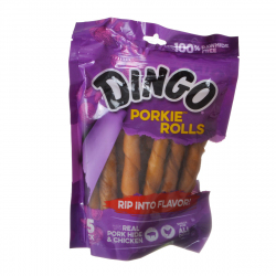 Dingo Porkie Rolls (No China Sourced Ingredients) 15 Pack - (5