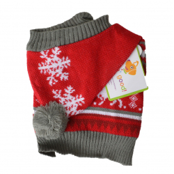 Lookin Good Holiday Dog Sweater - Red Image