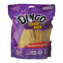 Dingo Chip Mix - Rawhide Chews with Chicken in the Middle Large - 16 oz - (Big Dogs) Image