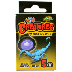 Zoo Med Creatures LED Black Light Lamp Image