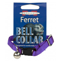 Marshall Ferret Bell Collar - Purple Image