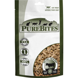 PureBites Beef Liver Freeze Dried Cat Treats Image