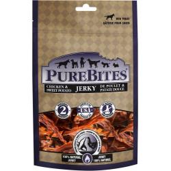 PureBites Chicken and Sweet Potato Jerky Dog Treats Image