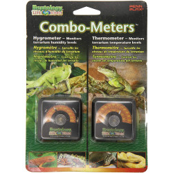 Reptology Reptile Combo Meters - Hygrometer & Thermometer  Image