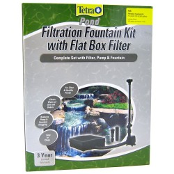 Tetra Pond Filtration Fountain Kit with Flat Box Filter Image