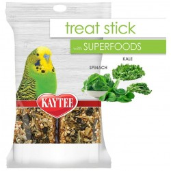 Kaytee Superfoods Avian Treat Stick - Spinach & Kale Image