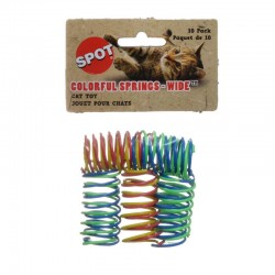 Spot Colorful Springs Cat Toy - Wide Image