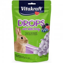 Vitakraft Drops with Wild Berry for Rabbits Image
