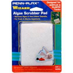 Penn Plax Wizard Algae Scrubber Pad for Acrylic or Glass Aquariums Image