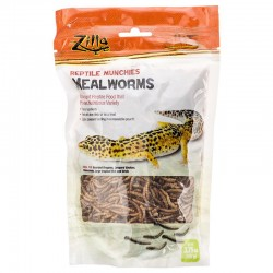 Zilla Reptile Munchies - Mealworms Image
