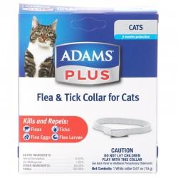 Adams Plus Flea & Tick Collar for Cats Image