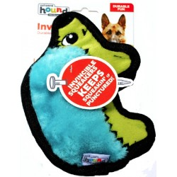 Outward Hound Invincibles Minis Turquoise Hedgehog Dog Toy Image