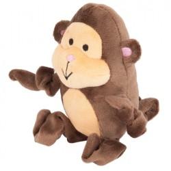 Petmate Zoobilee Stretchies Monkey Dog Toy Image
