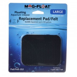 Replacement Pad and Felt for Glass Mag-Float Image