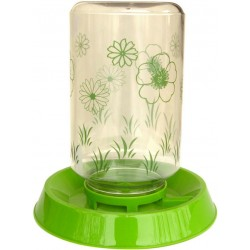 Lixit Bird Feeder And Water Fountain with Flower Pattern  Image