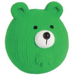 Petmate Booda Zoobilee Latex Bear Fetch Balls Dog Toy Image