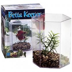 Lee's Betta Keeper Hex Aquarium Kit Image