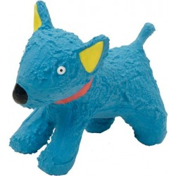 Li'l Pals Latex Blue Dog Toy Image