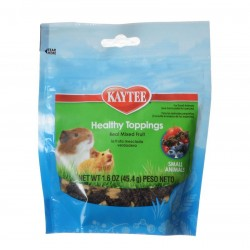 Kaytee Fiesta Healthy Toppings Treat for Small Animals - Mixed Fruit Image
