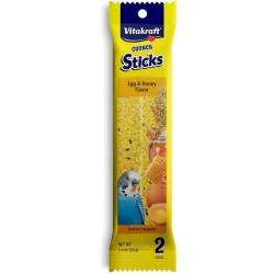 Vitakraft Crunch Sticks Egg and Honey for Parakeets Image