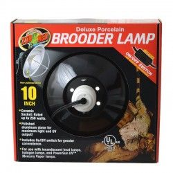 Zoo Med Deluxe Porcelain Clamp Lamp Image