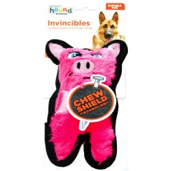Outward Hound Invincibles Minis Pink Pig Dog Toy Image