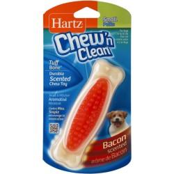 Hartz Chew N' Clean Tuff Bone Bacon Flavored Dog Toy Small Image