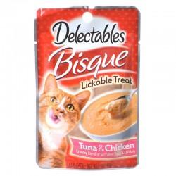 Hartz Delectables Bisque Lickable Treat for Cats - Tuna & Chicken Image