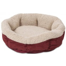Aspen Pet Self Warming Pet Bed - Spice & Cream Image