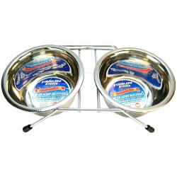 Stainless Steel Double Diner Dish Image