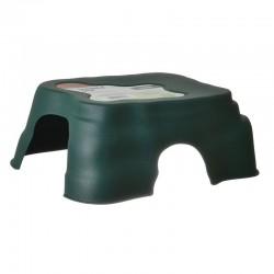 Zilla Durable Den for Reptiles - Green Image