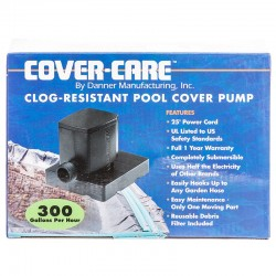 Danner Cover-Care Clog-Resistant Pool Cover Pump Image