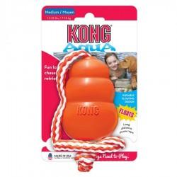 Kong Aqua Floating Dog Toy with Rope Image