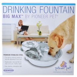 Pioneer Big Max Stainless Steel Drinking Fountain Image