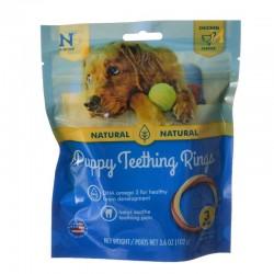 N-Bone Puppy Teething Ring - Chicken Flavor Image