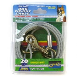 Four Paws Tie-Out Cable - Heavy Weight Image
